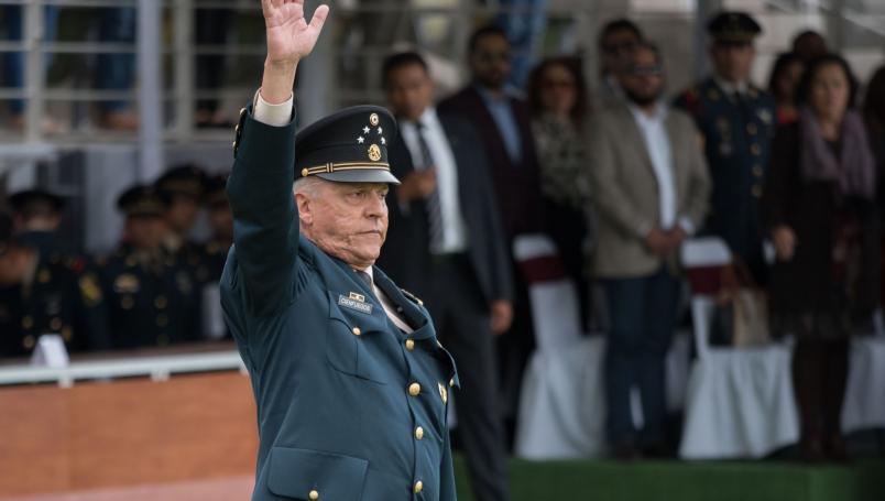 Estados Unidos buscará decomisar todas los bienes de Salvador Cienfuegos