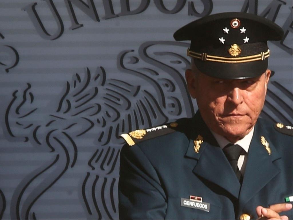 Retiran en Estados Unidos cargos a Cienfuegos, pasará a la FGR en México