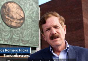 Exige Romero Hicks a AMLO reunirse con gobernadores opositores que exigen más dinero