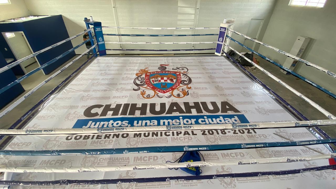 Continúa IMCFD con trabajos de mantenimiento a gimnasios de box y unidades deportivas