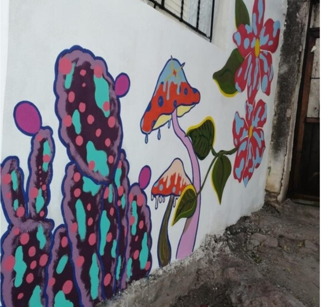 "Da ""Murales en familia"" color a casas de chihuahuenses en su primera etapa"
