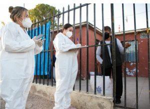 Lleva Gobierno Municipal apoyos alimenticios y servicios públicos a La Villa