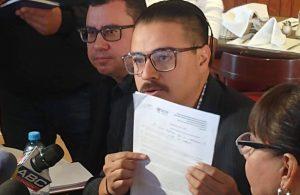 """""""Autoritarias y fuera de la ley medidas restrictivas impuestas por Corral"""": Ulises García"""