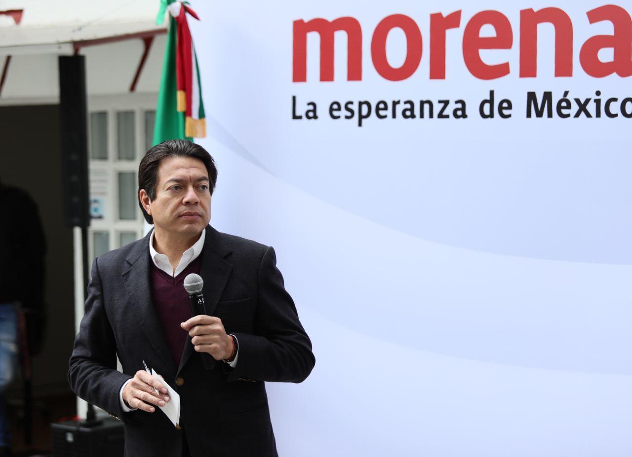 """""""Vamos por una política de alianzas que fortalezcan la 4T"""": Mario Delgado"""