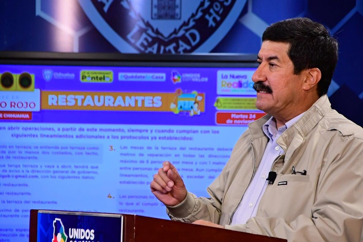 """""""Respiro a la economía"""", abrirán restaurantes y comercios con restricciones sanitarias: Corral"""