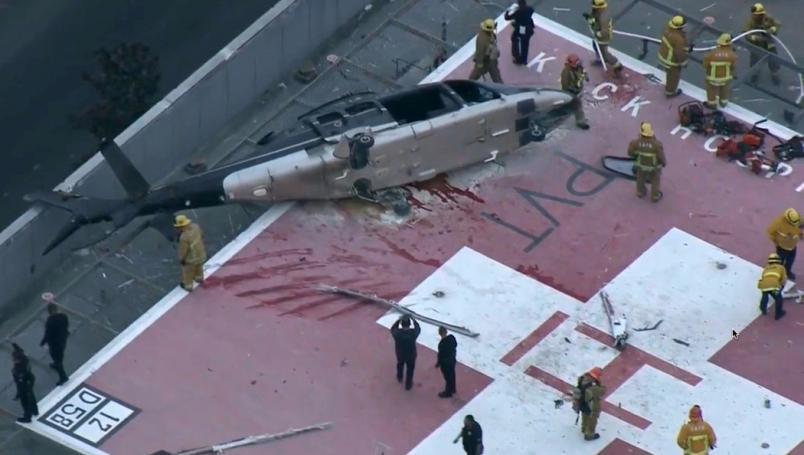 Helicóptero que transportaba corazón de donante se estrella