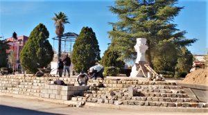 Plaza Juárez supera avances del 70 por ciento y ya luce nueva imagen
