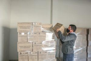 Comienza la entrega de despensas en el DIF Parral