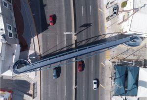 Finaliza Gobierno Municipal puente peatonal sobre avenida La Cantera