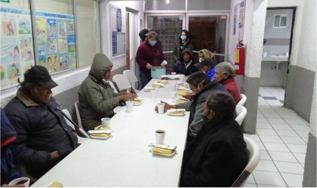 Pasaron Noche Buena 15 personas en refugio temporal del Gobierno Municipal