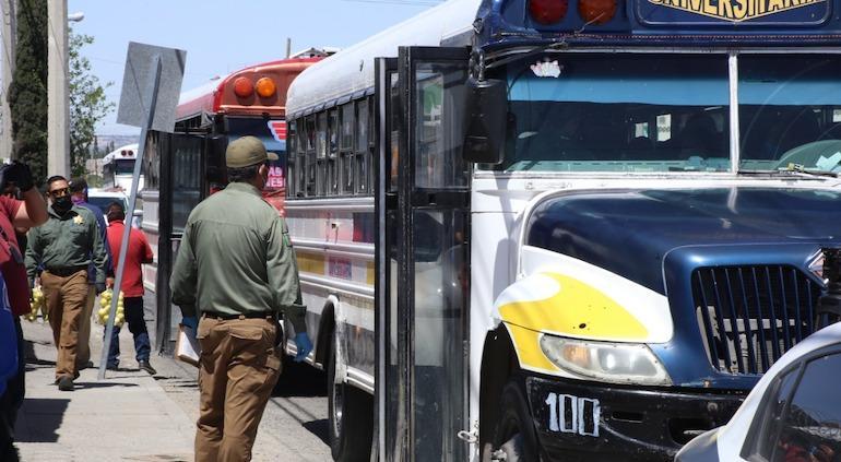 Exige Leticia Ochoa a gobierno estatal transporte digno para el Valle de Juárez