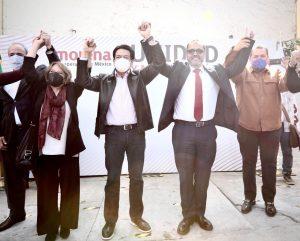 """""""Con Loera, queremos llevar la Cuarta Transformación a Chihuahua"""": Mario Delgado"""