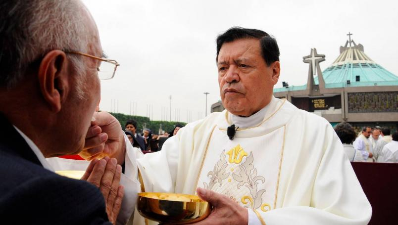 Norberto Rivera decidió atenderse en hospital privado, confirma Arquidiócesis