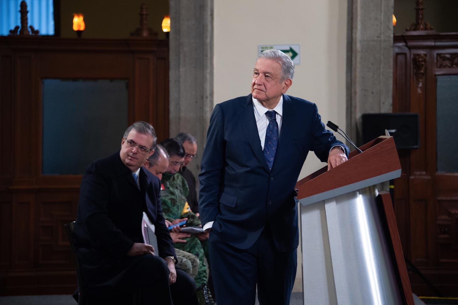 """Ordena AMLO publicar expediente completo de la investigación de Cienfuegos """"No se pueden inventar delitos"""""""