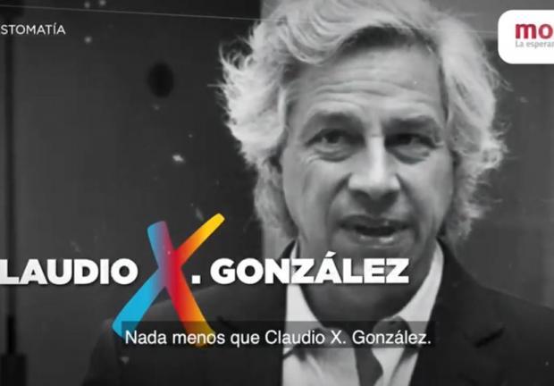 Señala Morena al empresario Claudio X. González como el verdadero jefe del PRIAN