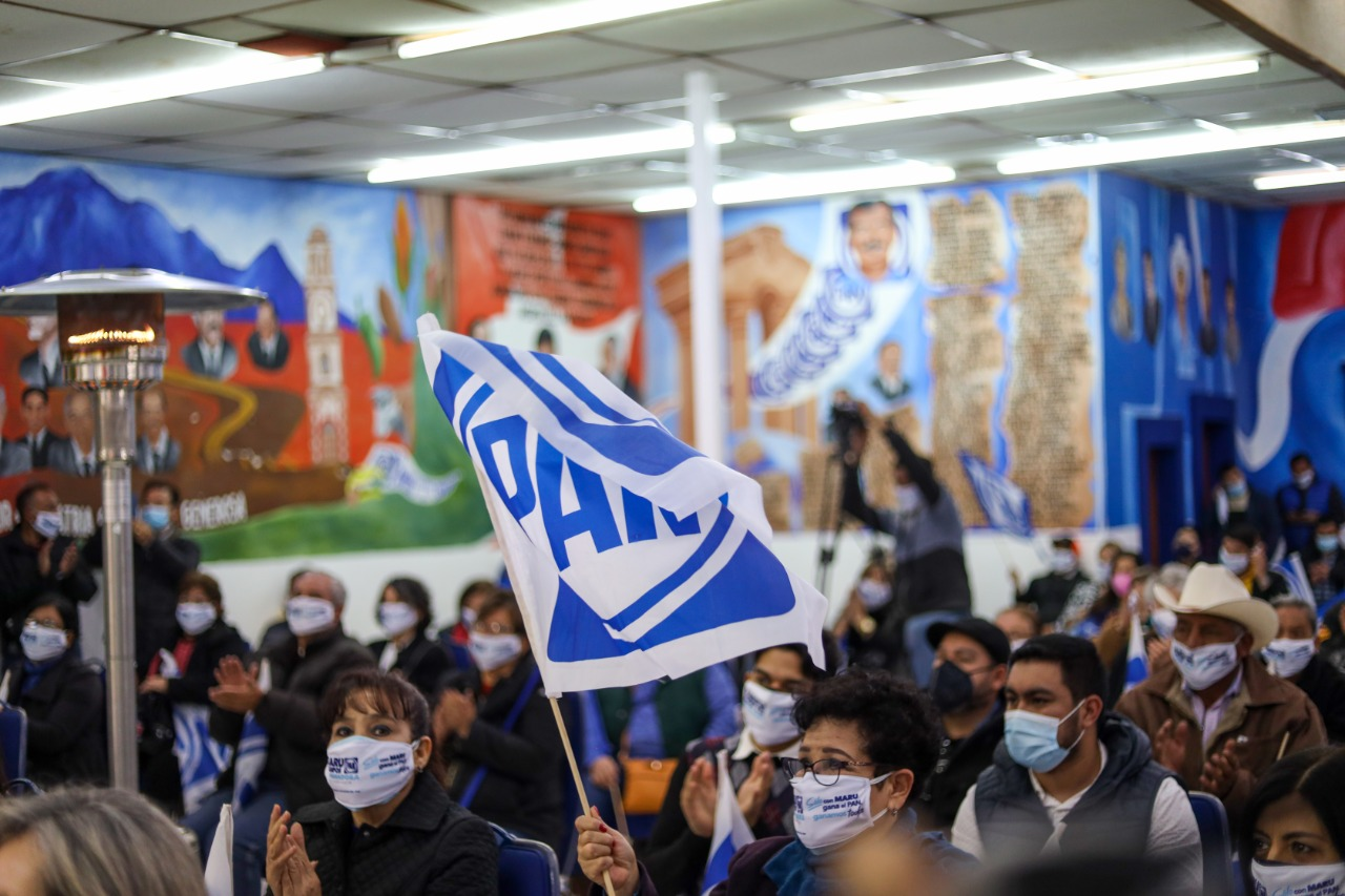 Maru es la persona idónea para refrendar el triunfo de Acción Nacional: Carlos Aguilar y panistas de Camargo