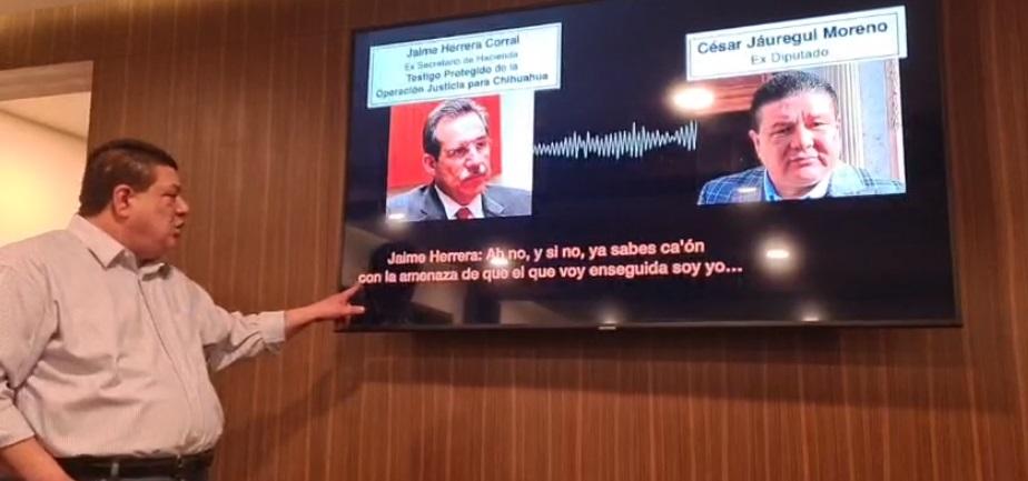 Son mamadas, dice César Jáuregui al acusar al gobierno de Javier Corral de fabricar acusaciones