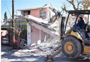 Municipio sigue con trabajos en zona afectada tras explosión