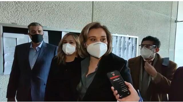 """""""Decidimos venir ante la justicia"""": Maru en juzgados para conocer de qué se le acusa"""