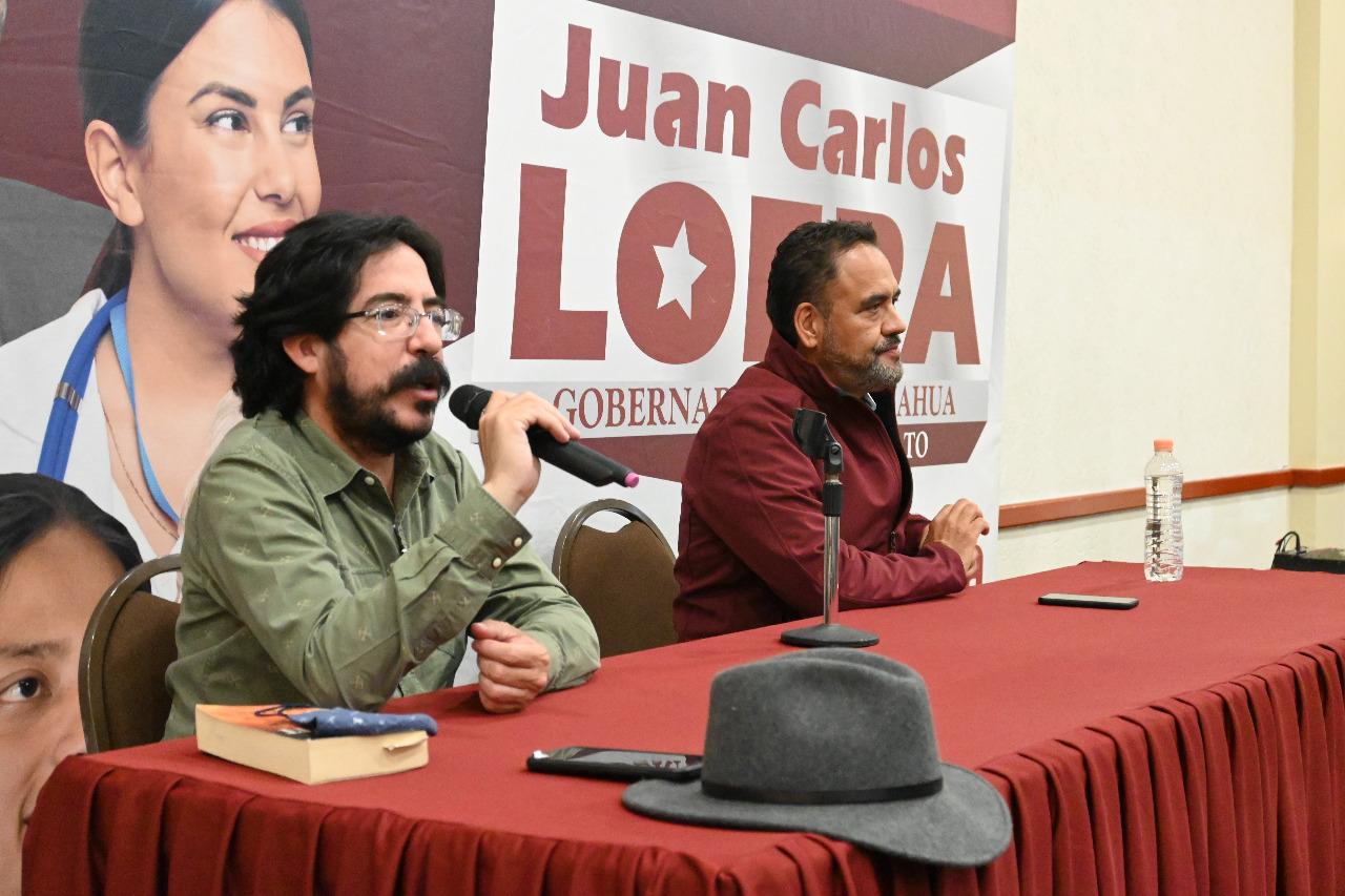 El PAN no sólo robó dinero, también la tranquilidad, paz y la historia de los chihuahuenses: Pedro Salmerón