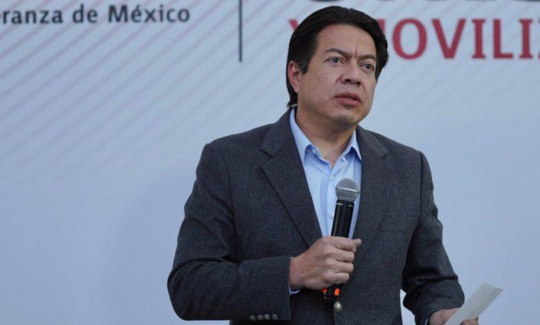 """En Morena no se lucha por cargos"": Mario Delgado"