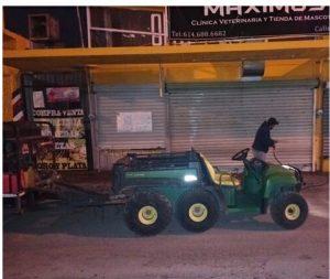 Limpia Gobierno Municipal exteriores de mercados municipales Reforma y Juárez