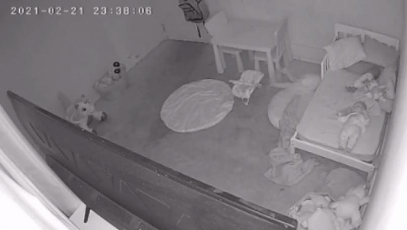 Niña es arrastrada bajo su cama por un fantasma