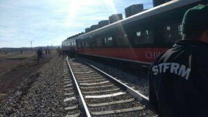 Se descarrila el Chepe Express en Cuauhtémoc