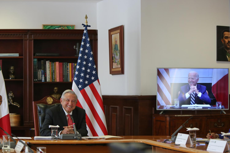 Acuerdan AMLO y Joe Biden fortalecer relación bilateral y cooperación para el desarrollo