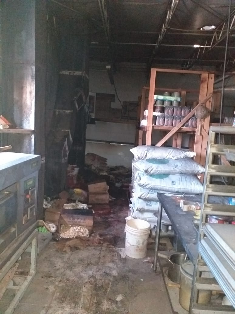 Incendio en el China City causó mermas de 3.9 toneladas de alimentos