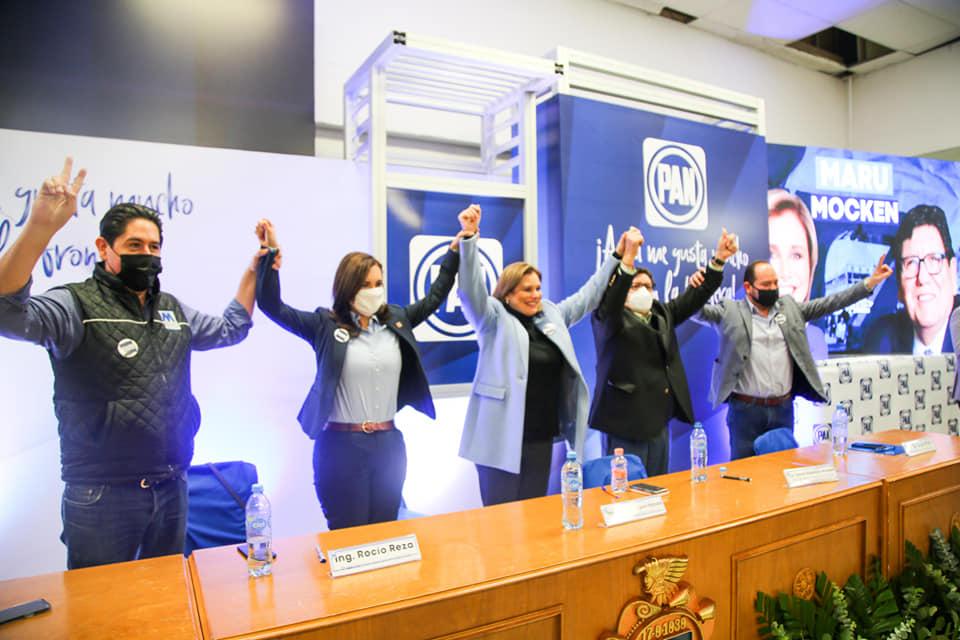 "Maru va fuerte como candidata; Maru será gobernadora"" Rocío Reza"