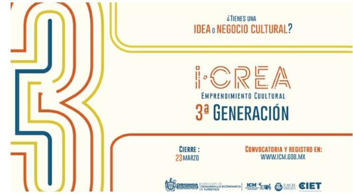 """Invitan a participar en la """"tercera generación iCREA"""""""