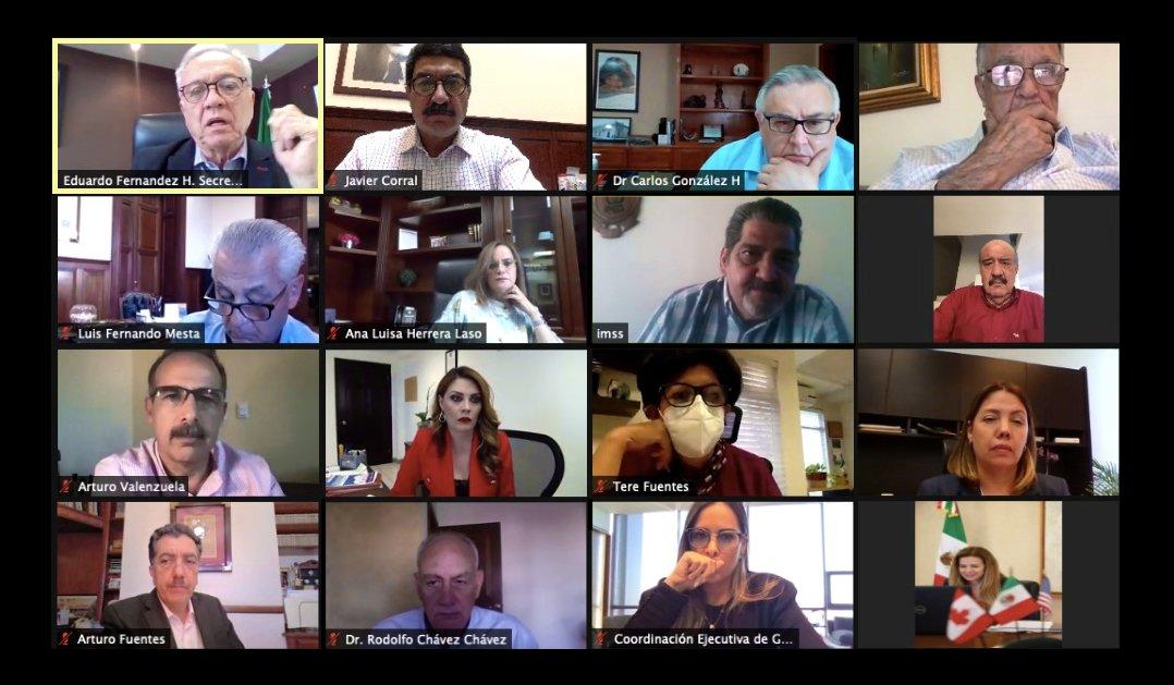 Ante aparición de nuevas cepas Covid en Chihuahua,  Salud tiene reunión urgente
