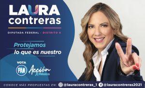 Da Laura Contreras arranque a su campaña como aspirante a diputada federal del distrito 06