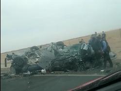 Fatídico choque en tramo a Juárez