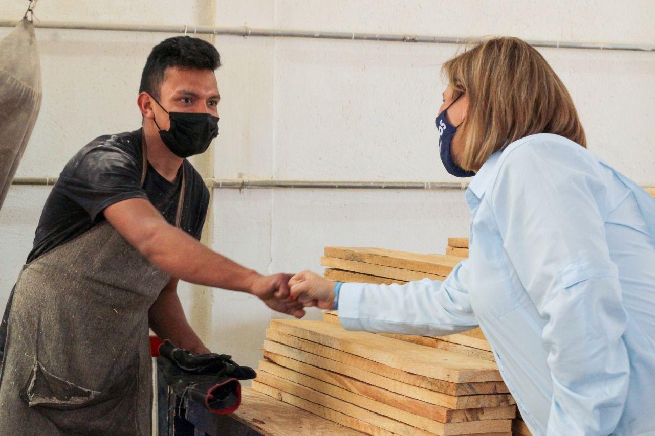 Recorre Maru las instalaciones del corporativo Gala en Allende