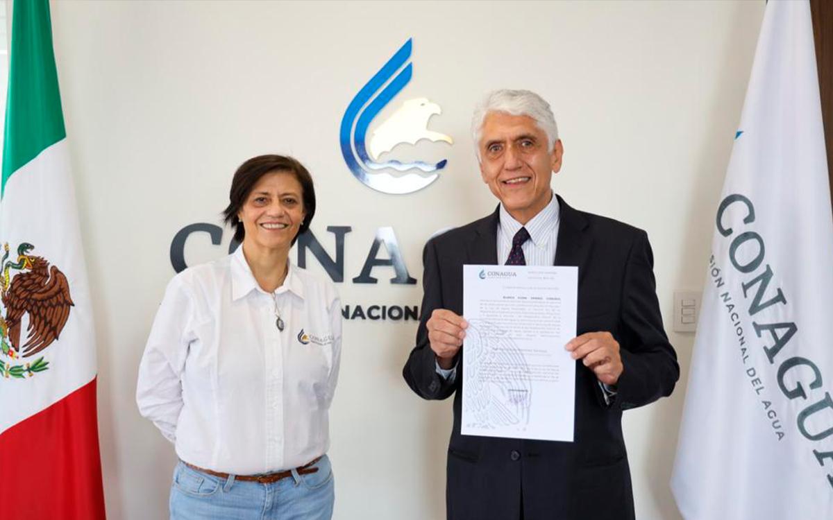 Anuncia AMLO cambios en Conagua, será Director  Germán Martínez Santoyo