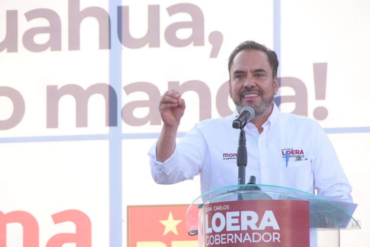 """""""Politizó PRIAN tema del agua, hay que ver quiénes son candidatos"""": Loera"""