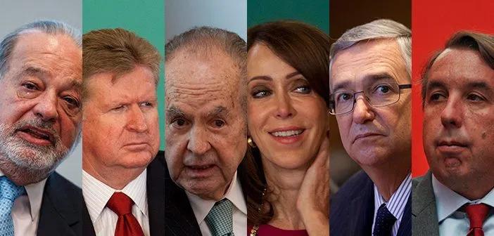Aumentaron sus millones los 10 más ricos de México: Forbes