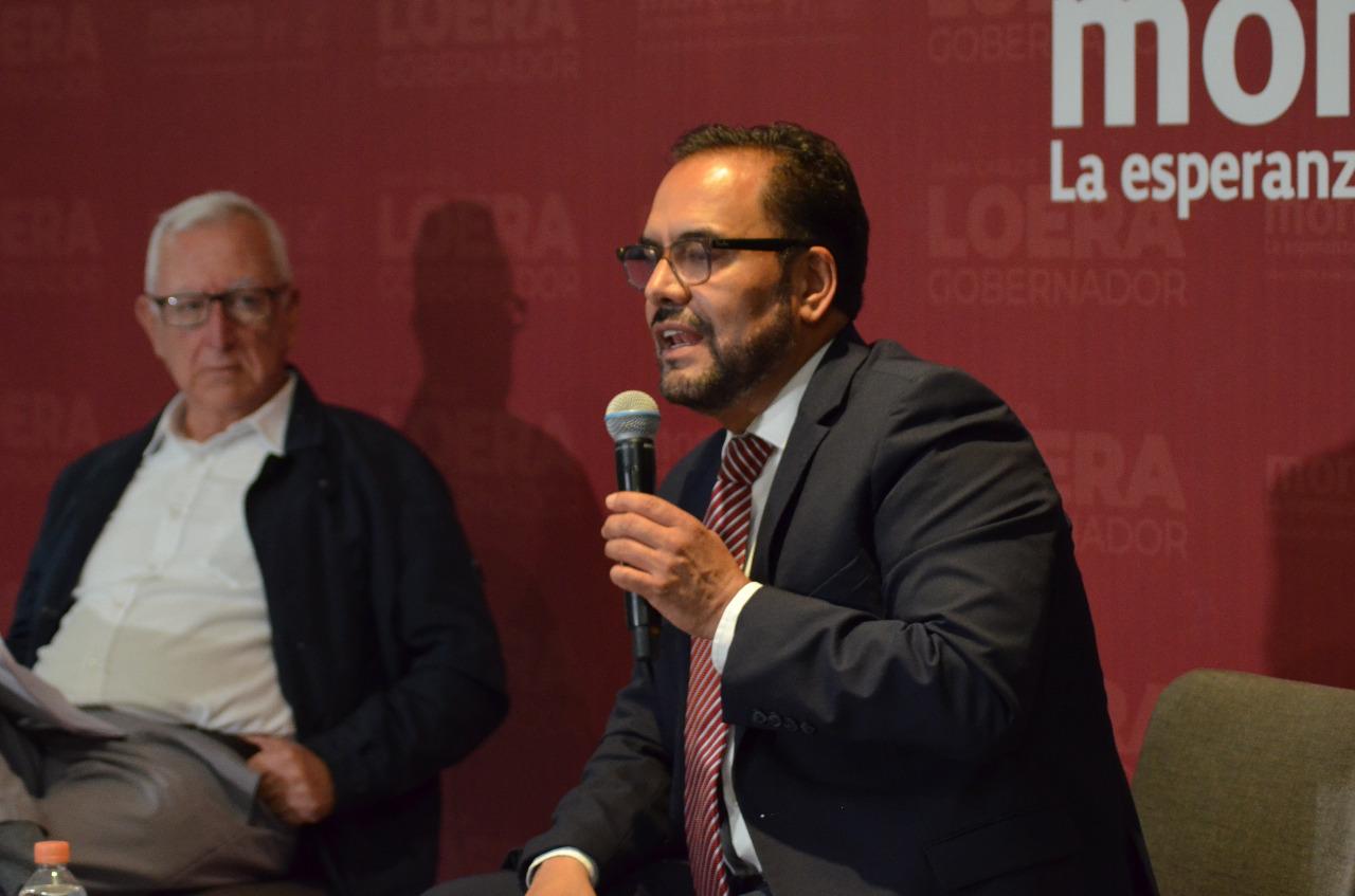 Presenta Juan Carlos Loera el Proyecto de Gobierno para La Transformación de Chihuahua