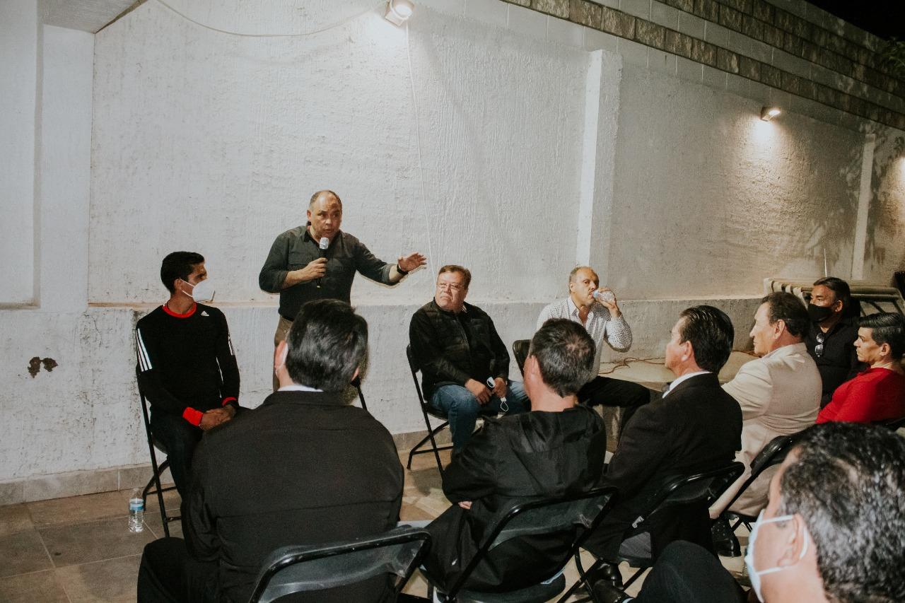 Se suman más profesionistas al proyecto de Marco Quezada